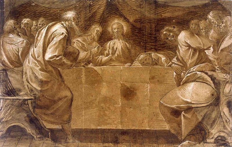PIER FRANCESCO MAZZUCCHELLI called IL MORAZZONE The Last Supper 11355 172. часть 4 -- European art Европейская живопись
