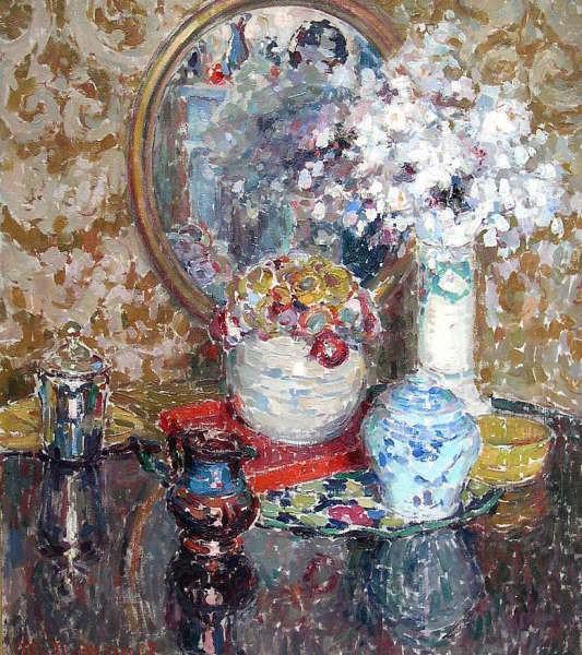 Maurice MEYNAERT Still life of flowers 32122 617. часть 4 - европейского искусства Европейская живопись