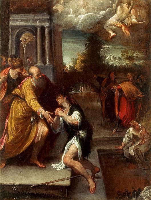 Pietro Faccini The Return of the Prodigal Son 16418 203. часть 4 -- European art Европейская живопись