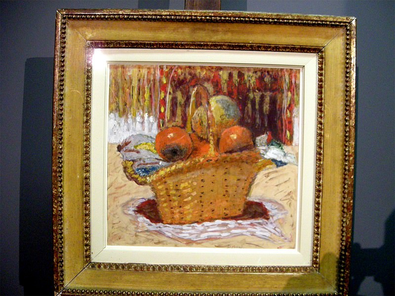 Pierre BONNARD Corbeille de fruits 49419 1146. часть 4 -- European art Европейская живопись