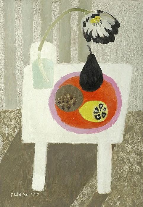 Mary Fedden Still life with lemon 98365 20. часть 4 -- European art Европейская живопись