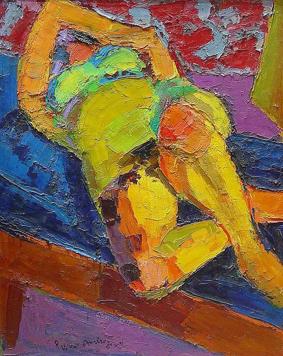 Pierre Ambrogiani Nude 36885 3306. часть 4 -- European art Европейская живопись