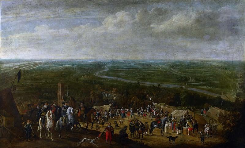 Hillegaert, Pauwels van -- Prins Frederik Hendrik bij de belegering van 's-Hertogenbosch, 1629, 1631. Rijksmuseum: part 2