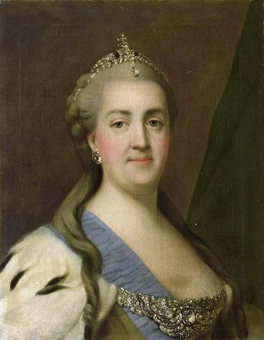 Вигилиус Эриксен -- Екатерина Вторая (1729-96), царица России, 1749-1782. Рейксмузеум: часть 2