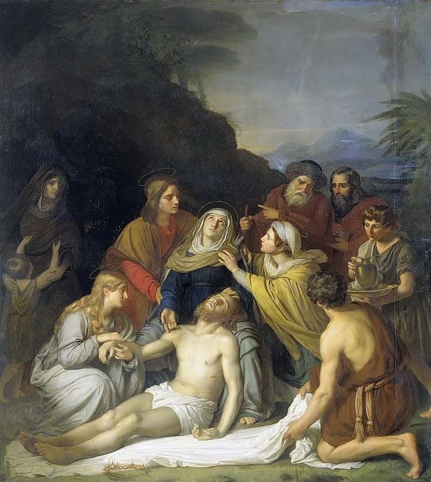 Kruseman, Cornelis -- De graflegging, 1830. Rijksmuseum: part 2