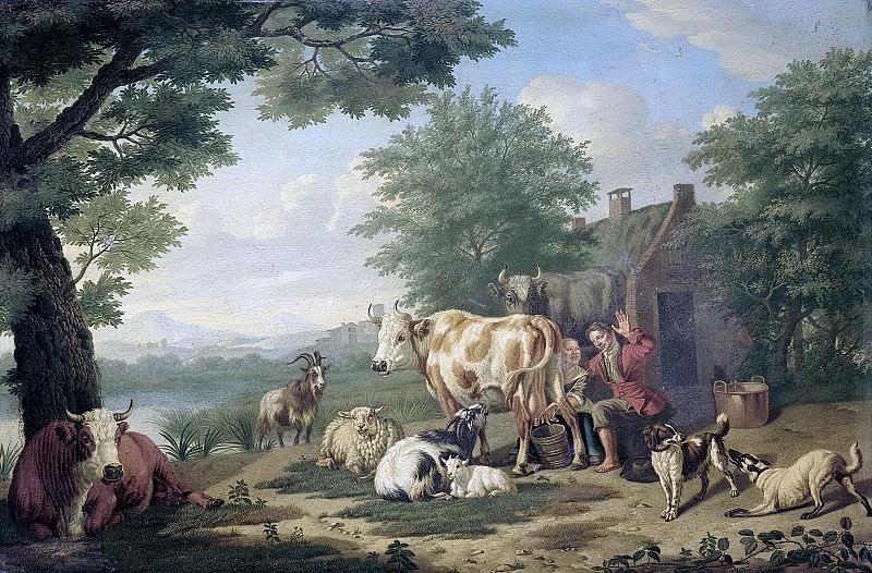 Gool, Jan van -- Het melkuur, 1710-1763. Rijksmuseum: part 2
