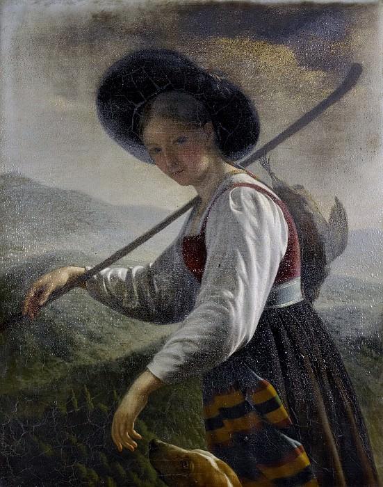 Cels, Cornelis -- Zwitserse boerin, 1820-1821. Rijksmuseum: part 2