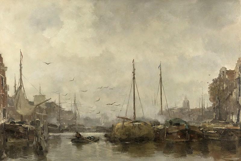 Якоб Марис -- Городской вид, 1885-1887. Рейксмузеум: часть 2