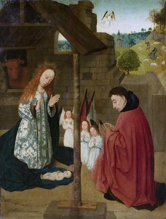 Мастер Брунсвейкского диптиха -- Рождение Христа, 1490-1500. Рейксмузеум: часть 2