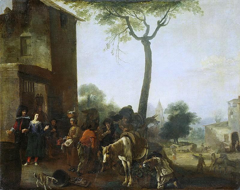 Laer, Pieter Bodding van -- De wijnoogst, 1630-1650. Rijksmuseum: part 2