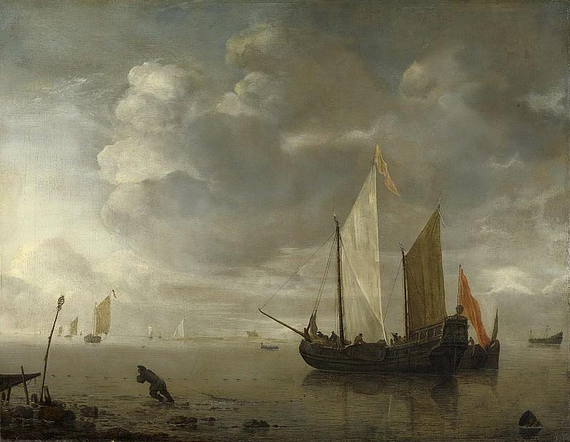 Dubbels, Hendrick Jacobsz. -- Kalme zee, 1650-1676. Rijksmuseum: part 2