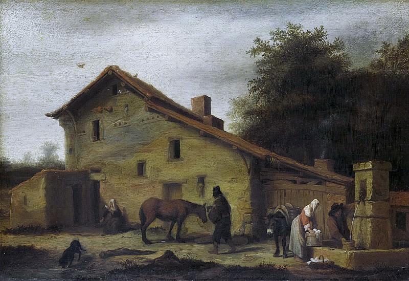 Doomer, Lambert -- Herberg in de buurt van Nantes, 1640-1660. Rijksmuseum: part 2