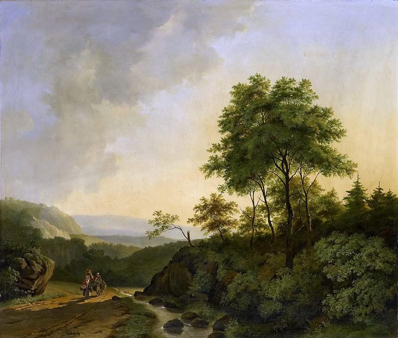 Корнелис Франсуа Роос -- Вид в горном массиве Гарц, 1840. Рейксмузеум: часть 2