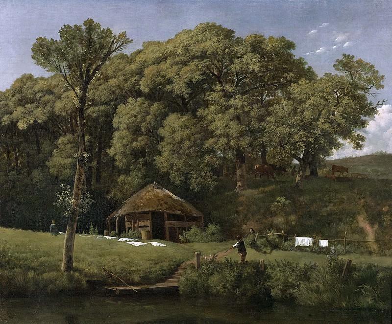 Troostwijk, Wouter Johannes van -- Een bouwhoeve aan de oever van een beek in Gelderland, 1805-1810. Rijksmuseum: part 2