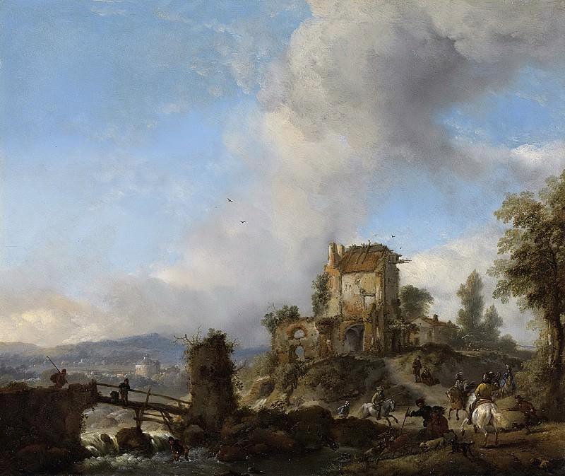 Wouwerman, Philips -- Hertenjacht, 1650-1668. Rijksmuseum: part 2