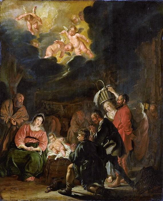 Питер Кодде -- Поклонение пастухов, 1645. Рейксмузеум: часть 2