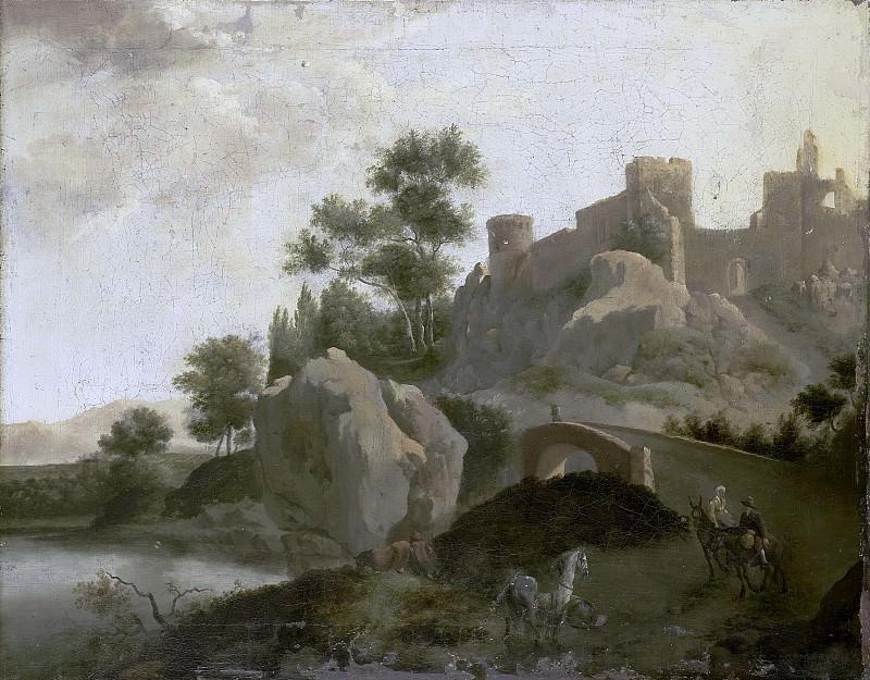 Schieblius, J.G. -- Italiaans landschap, 1680-1720. Rijksmuseum: part 2