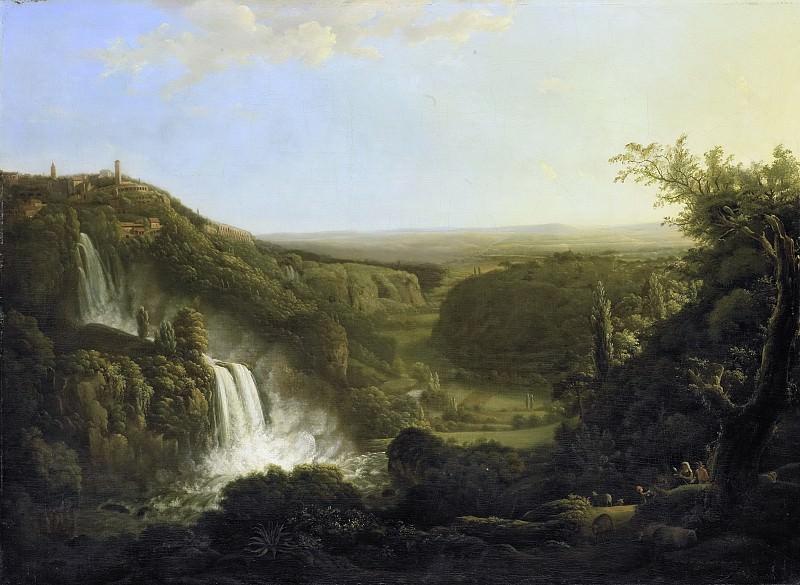 Корнелис Апостол -- Долина Анио и водопады Тиволи, 1800-1825. Рейксмузеум: часть 2