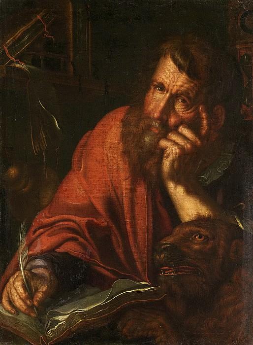De evangelist Marcus. Joachim Wtewael