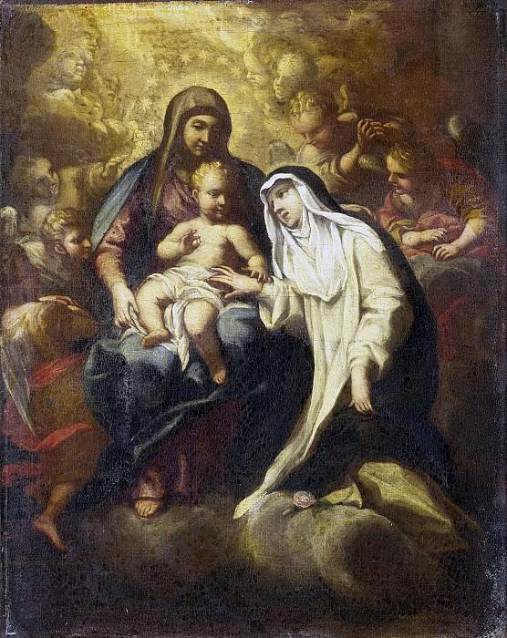 Baldi, Lazzaro -- Het mystieke huwelijk van de heilige Rosa van Lima., 1666-1670. Rijksmuseum: part 2