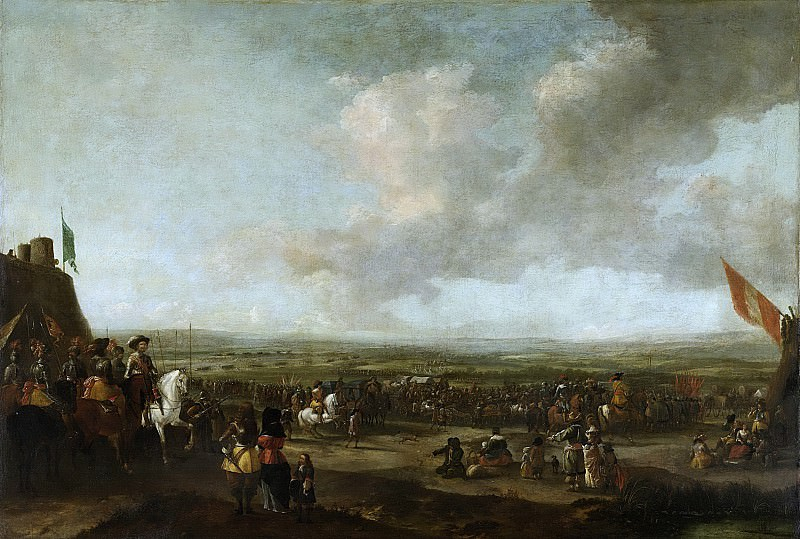 Wouwerman, Pieter -- Frederik Hendrik bij de overgave van Maastricht, 22 augustus 1632, 1633-1680. Rijksmuseum: part 2