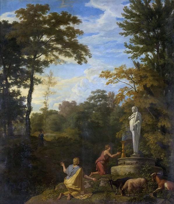 Glauber, Johannes -- Arcadisch landschap, 1680-1726. Rijksmuseum: part 2