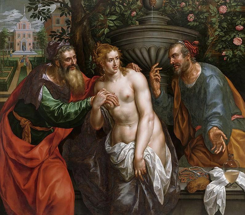 Clerck, Hendrik de -- Suzanna en de ouderlingen, 1590-1629. Rijksmuseum: part 2