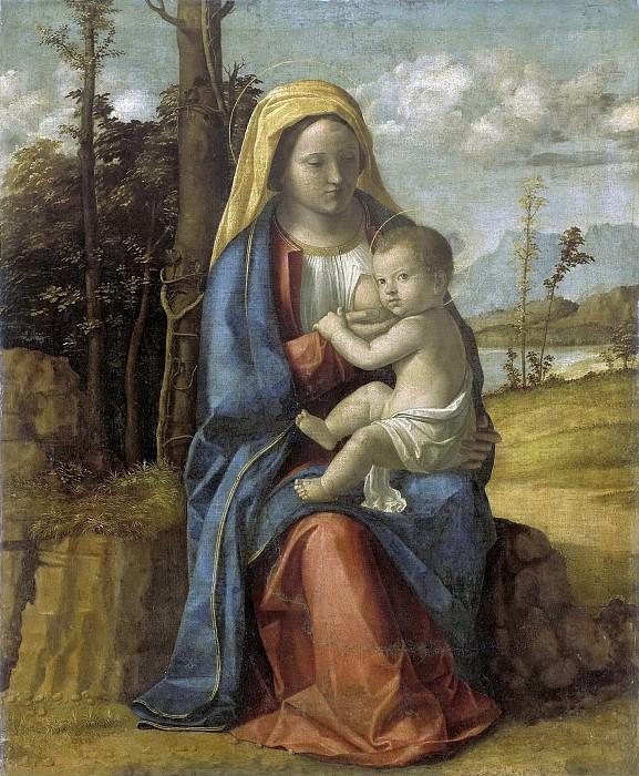 Джованни Баттиста Чима да Конельяно -- Мария с Младенцем, 1512-17. Рейксмузеум: часть 2