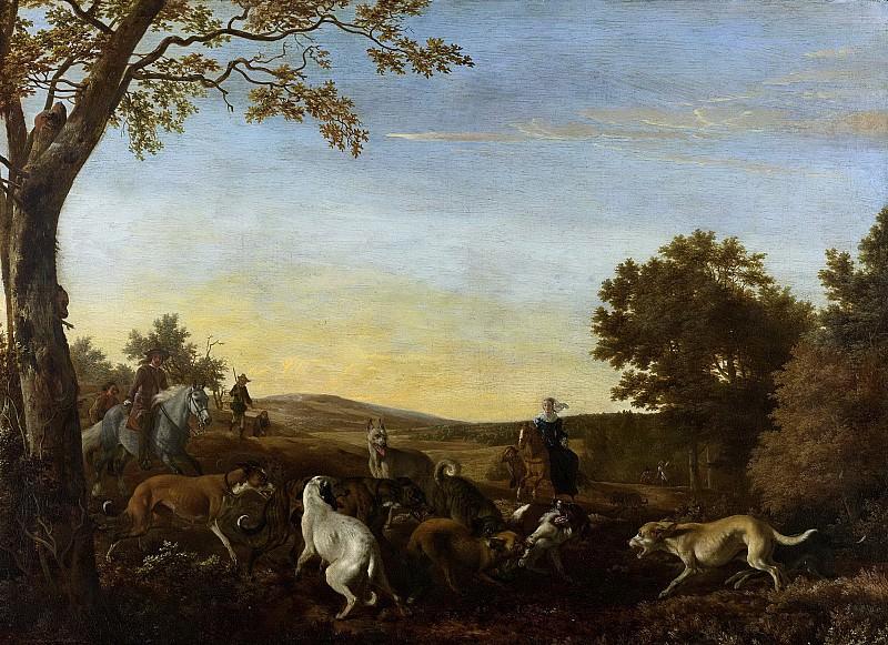 Людольф де Йонг -- Охота на лис, 1650-1679. Рейксмузеум: часть 2
