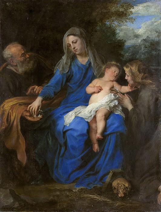 Dyck, Anthony van -- De heilige familie met Maria Magdalena, 1620-1700. Rijksmuseum: part 2