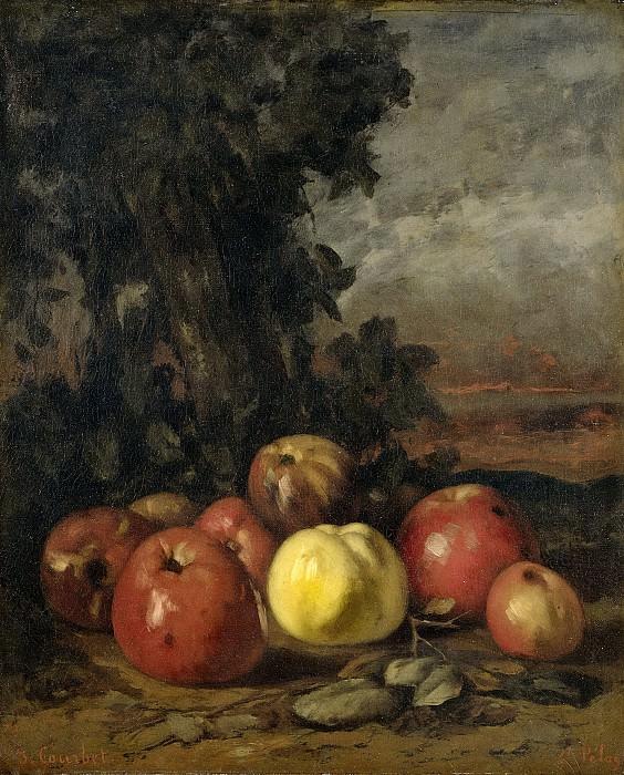 Courbet, Gustave -- Stilleven met appels, 1872. Rijksmuseum: part 2