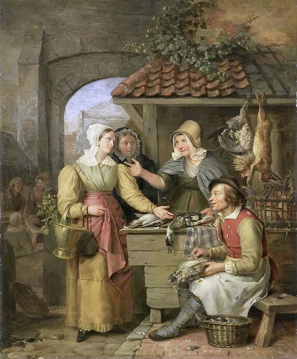 Engelberts, Willem Jodocus Mattheus -- De poelierster, 1830. Rijksmuseum: part 2
