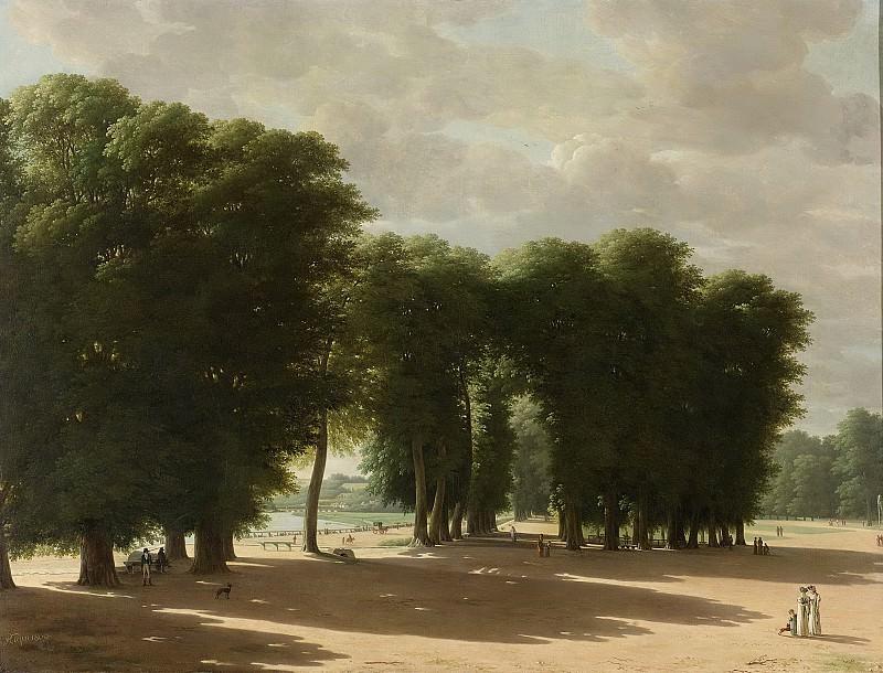 Kleijn, Pieter Rudolph -- De ingang van het park van St Cloud te Parijs, 1809. Rijksmuseum: part 2