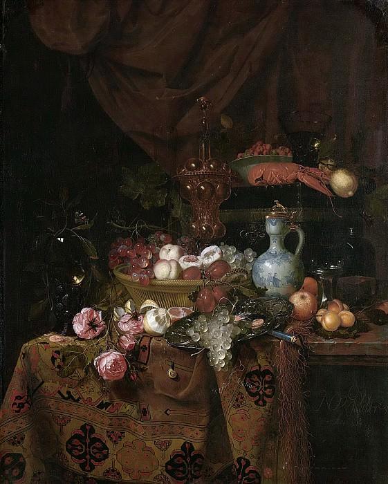 Gelder, Nicolaes van -- Stilleven, 1664. Rijksmuseum: part 2