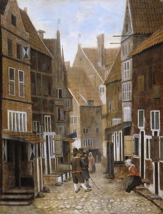 Врель, Якоб -- Городской вид, 1654-1662. Рейксмузеум: часть 2
