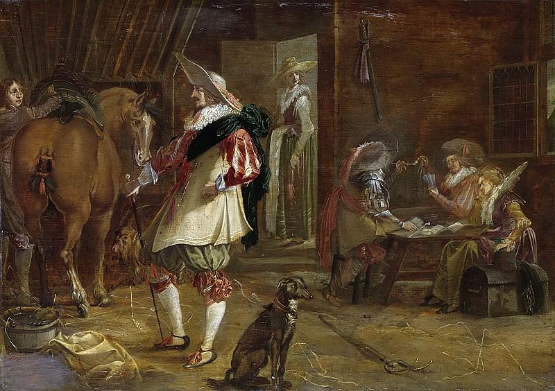 Jansen, F. -- Een kortegaard, 1635-1640. Rijksmuseum: part 2