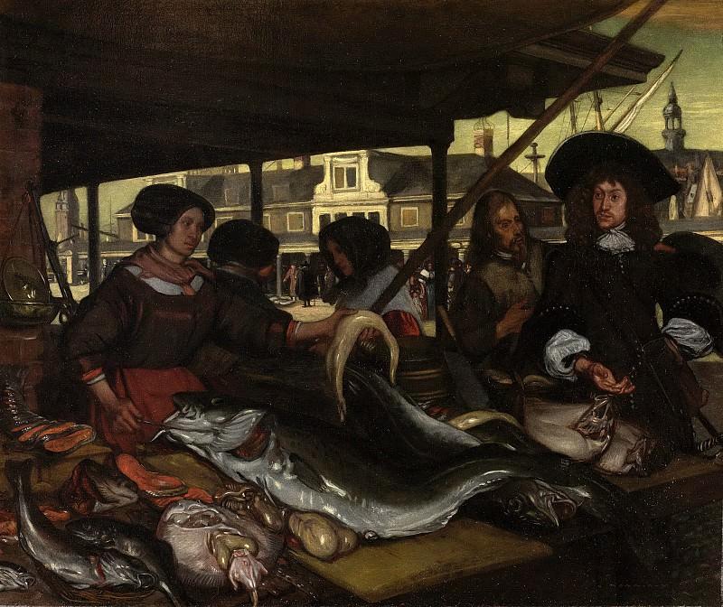 Witte, Emanuel de -- De Nieuwe Vismarkt te Amsterdam, 1655-1692. Rijksmuseum: part 2