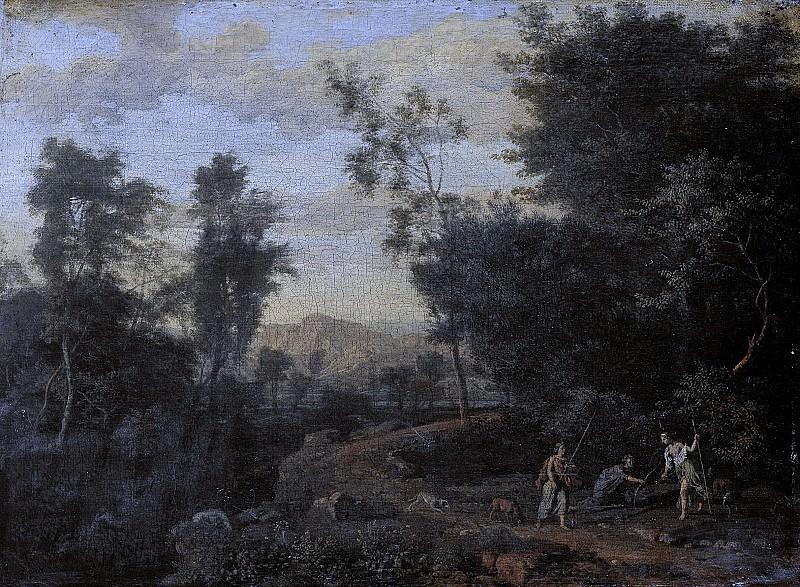 Genoels, Abraham -- Landschap met Diana op jacht, 1670-1723. Rijksmuseum: part 2