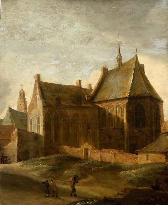 Ruelles, Pieter des -- Het Agnietenklooster te Utrecht, 1650-1658. Rijksmuseum: part 2