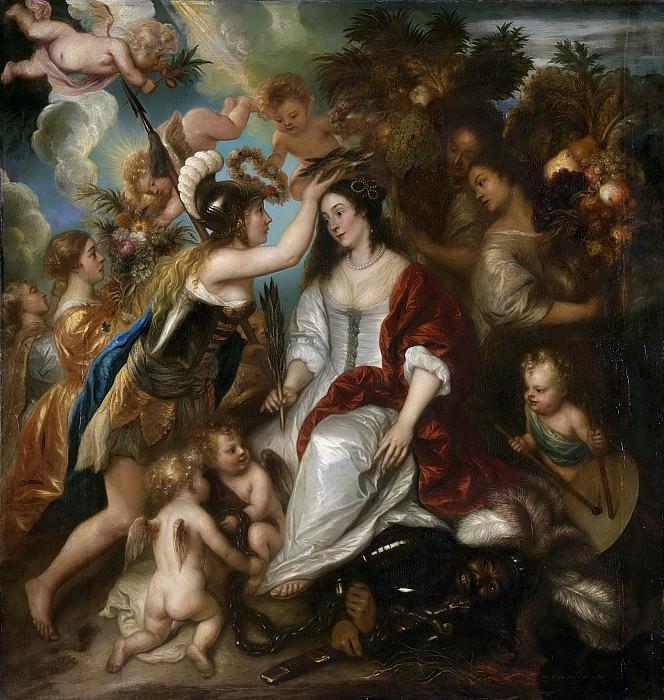 Ян Ливенс -- Аллегория мира, 1652. Рейксмузеум: часть 2