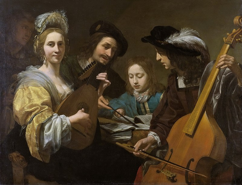 Kuijl, Gerard van -- Musicerend gezelschap, 1651. Rijksmuseum: part 2