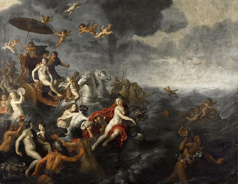 Nieulandt, Adriaen van (I) -- Galathea en Acis, 1651. Rijksmuseum: part 2