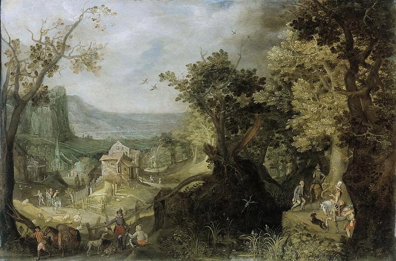Mirou, Anton -- Bosrijk landschap, 1608. Rijksmuseum: part 2