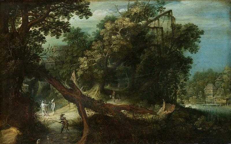 Stalbemt, Adriaen van -- Bergachtig landschap, 1600-1640. Rijksmuseum: part 2