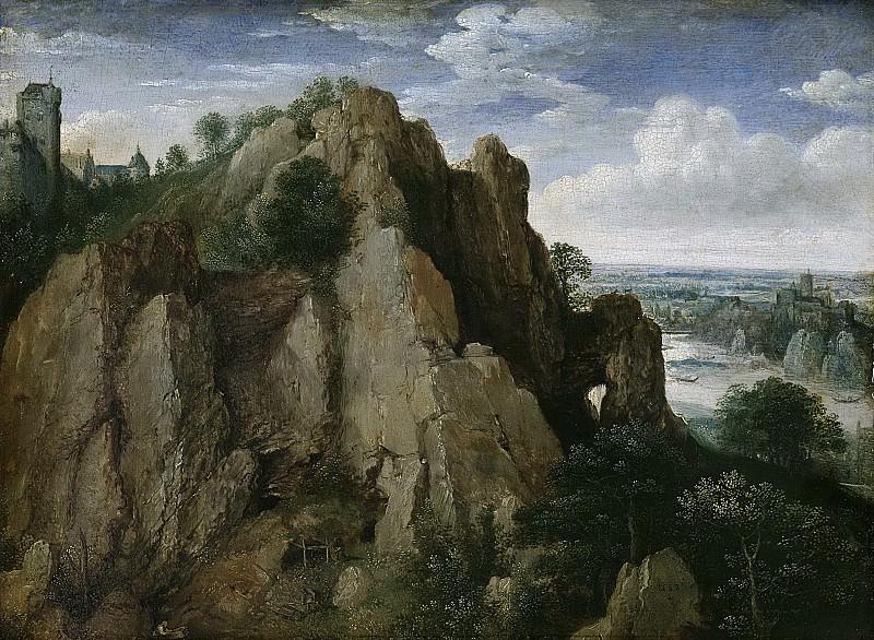 Valckenborch, Lucas van -- Bergachtig landschap, 1582. Rijksmuseum: part 2