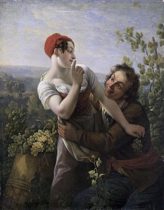 Noël, Peter Paul Joseph -- De verliefde wijngaardenier, 1817-1819. Rijksmuseum: part 2