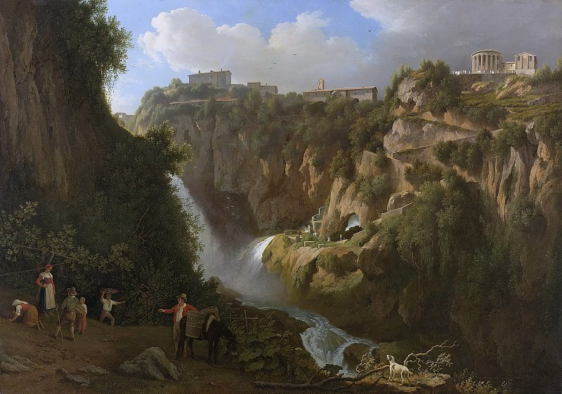Teerlink, Abraham -- De waterval van Tivoli, 1824. Rijksmuseum: part 2