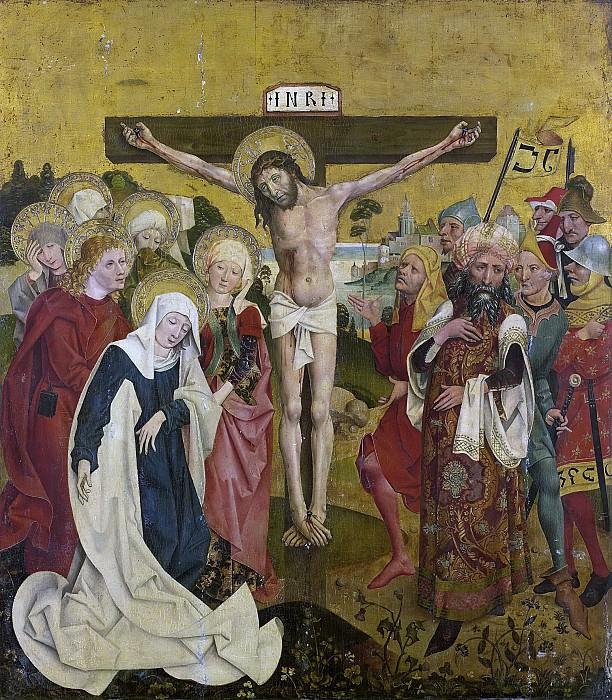 Бейерская школа, последняя четверть 15 века -- Распятие, 1475-1500. Рейксмузеум: часть 2