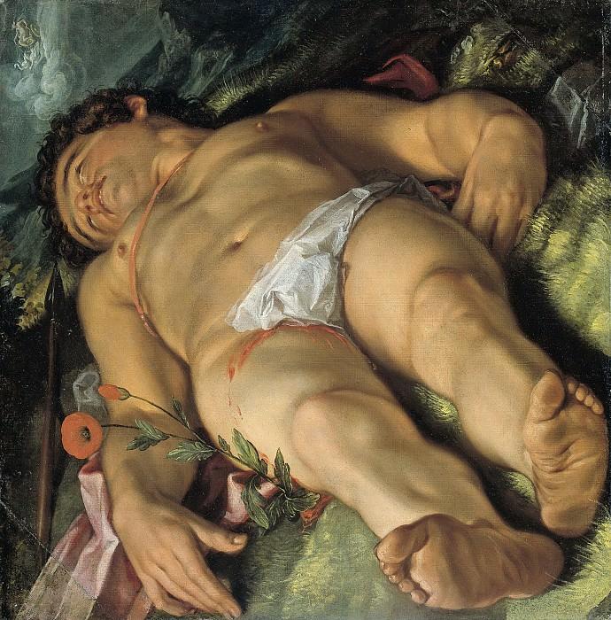 Goltzius, Hendrick -- Stervende Adonis, 1609. Rijksmuseum: part 2