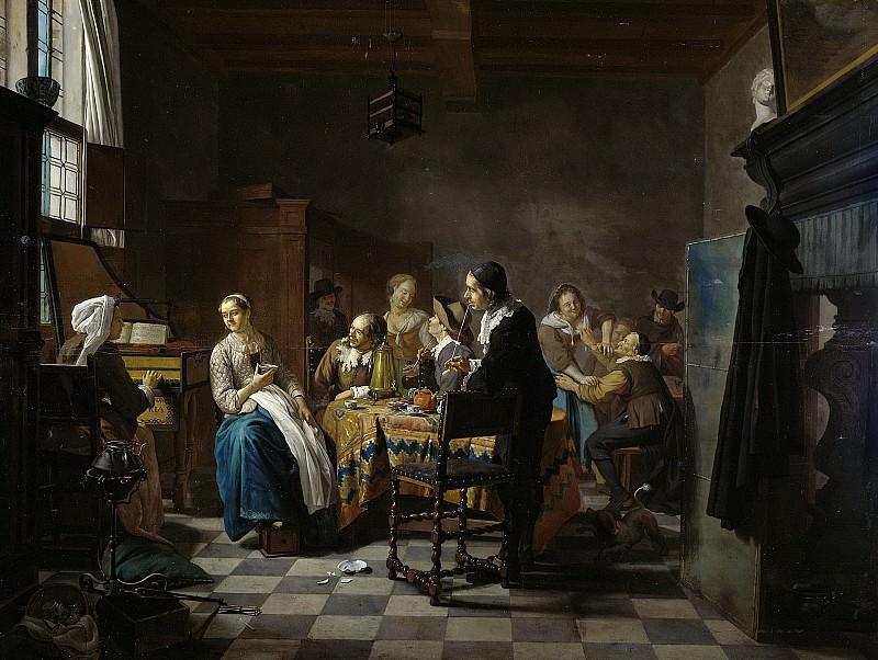 Ян Йозеф Хореманс (II) -- Новая песня, 1740-1760. Рейксмузеум: часть 2